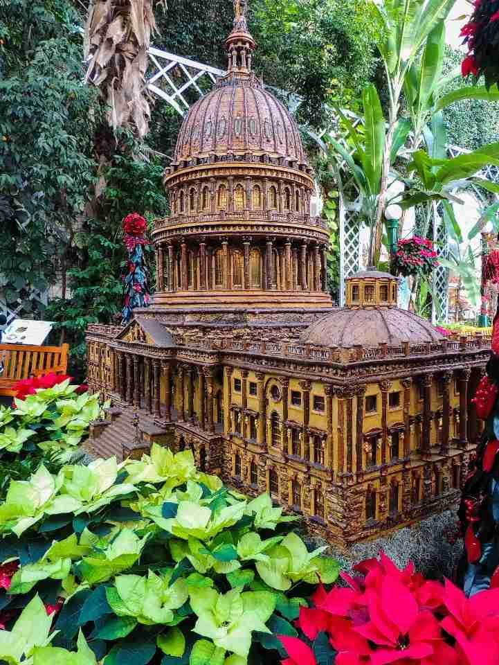 Christmas at the United States Botanic Garden in Washington, DC