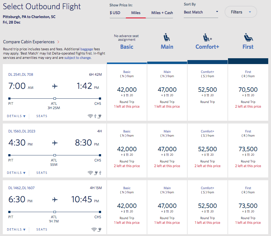The option we never wanted to see: SkyMiles pricing for basic economy fares