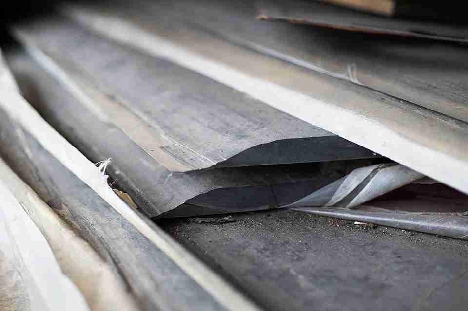 Recycling carbon fiber (Photo courtesy of ELG Carbon Fibre)