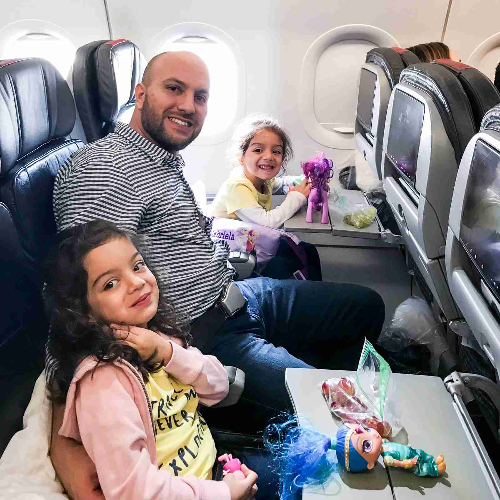 TPG contributor Juan Ruiz with his traveling twins. (Photo courtesy of Juan Ruiz)