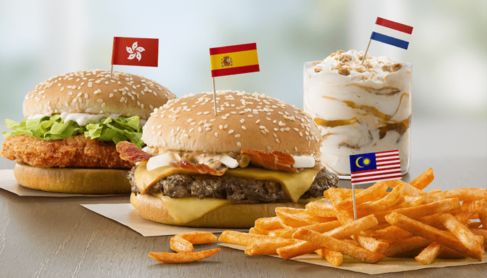 International McDonalds items available in South Florida