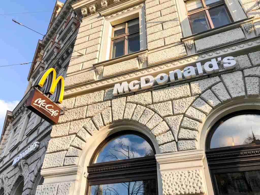 McDonalds in Vienna