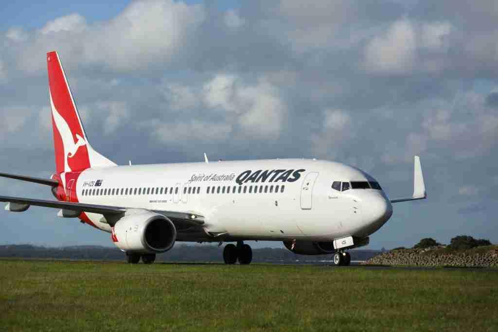 Qantas Boeing 737-800 (Image via Qantas)