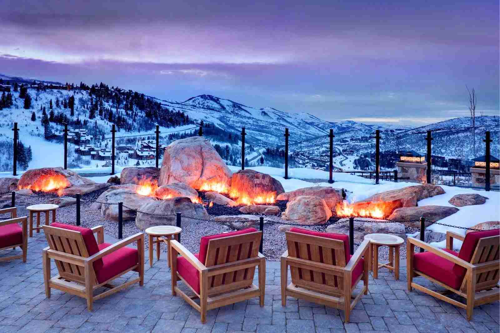 Stay at the St. Regis Deer Valley on points while skiing (Photo courtesy of St. Regis Deer Valley)
