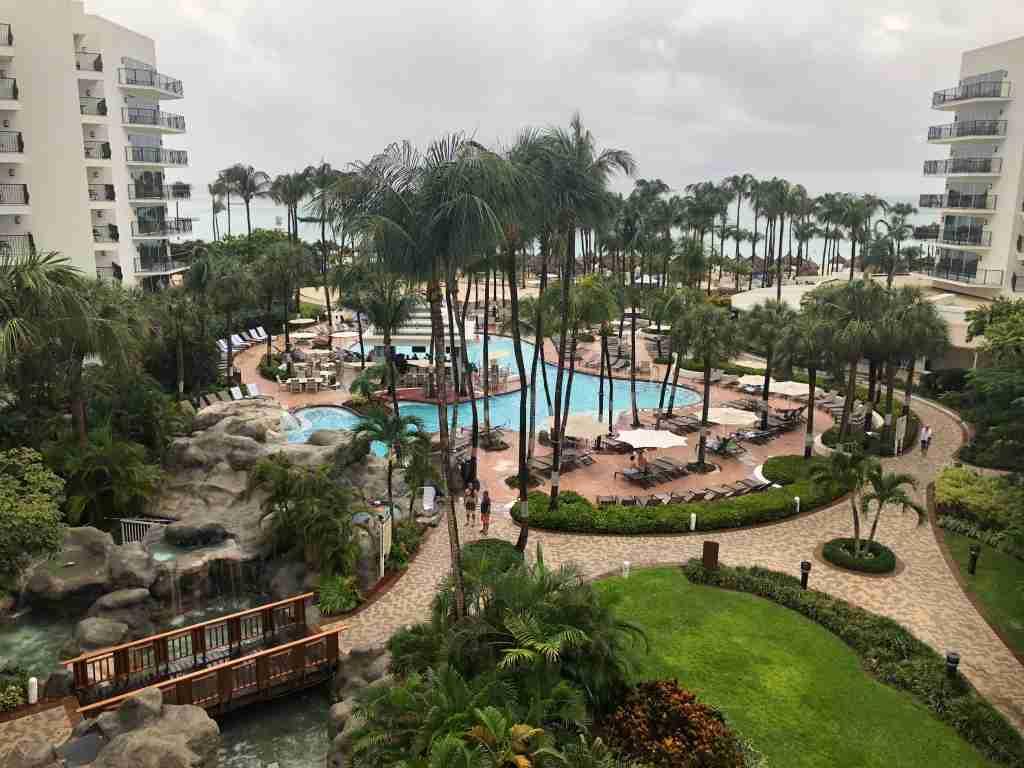 Resort view of the Marriott Aruba Resort & Stellaris (Photo courtesy of Jennifer Yellin / Deals We Like)