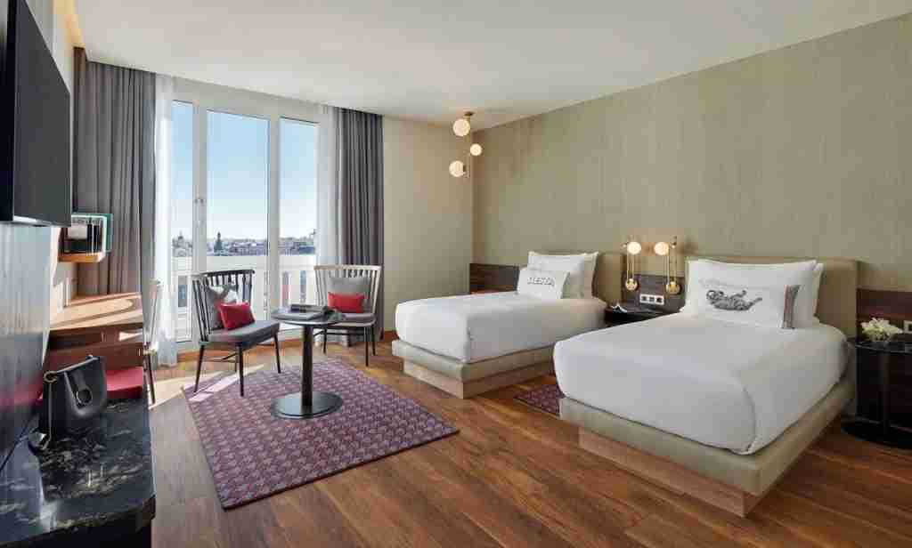 The Hyatt Centric Gran Madrid has large suites, great for families. (Photo courtesy of Hyatt Centric Gran Via Madrid)