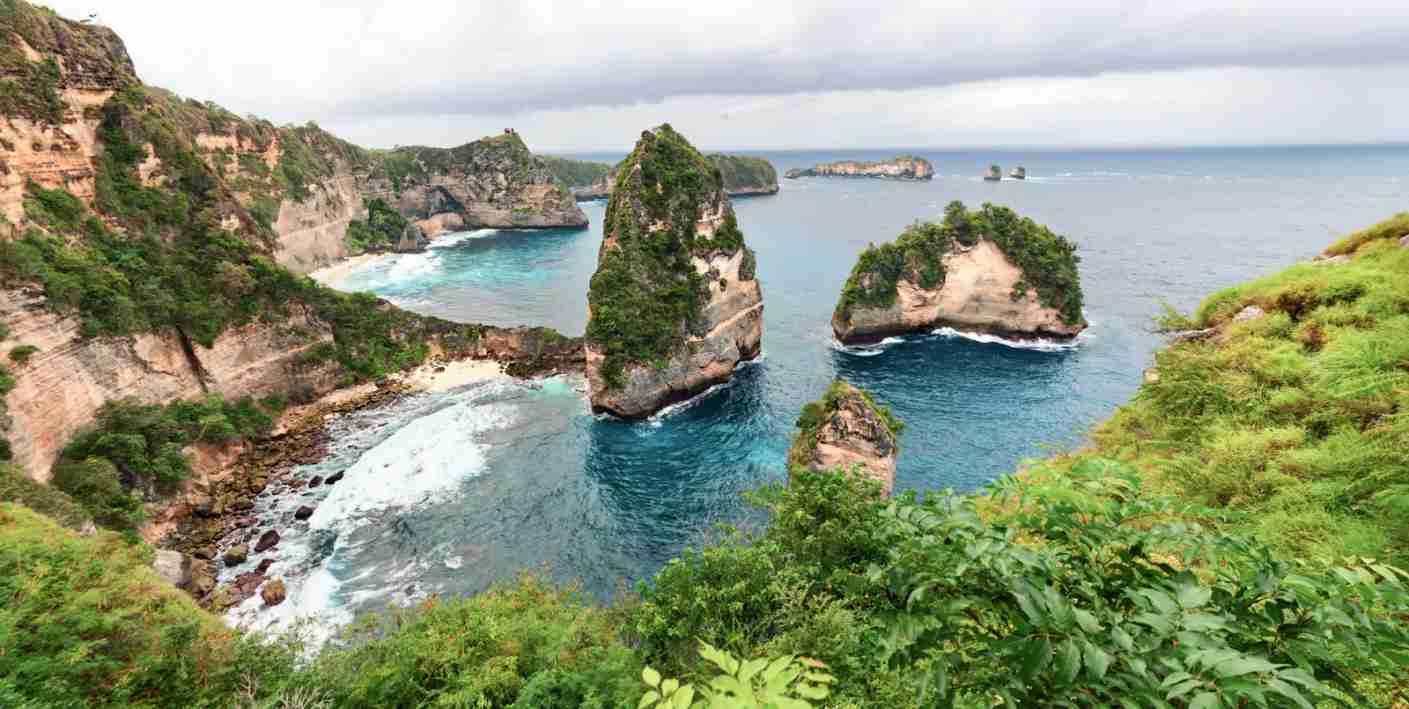 Nusa Island. (Photo via Shutterstock)