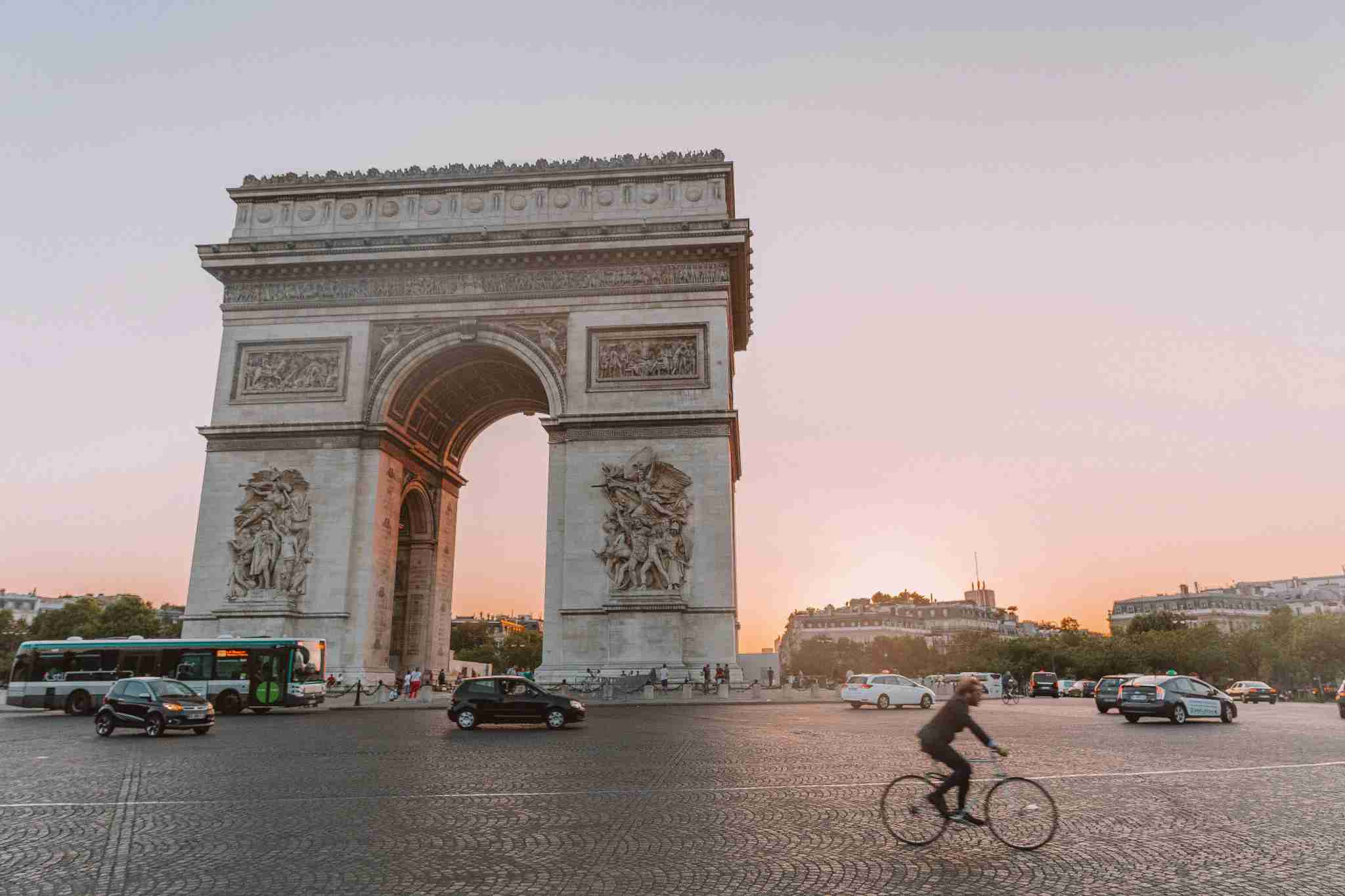 "As Audrey Hepburn once said, ""Paris is always a good idea!"" (Photo by Brendan Dorsey / The Points Guy)"