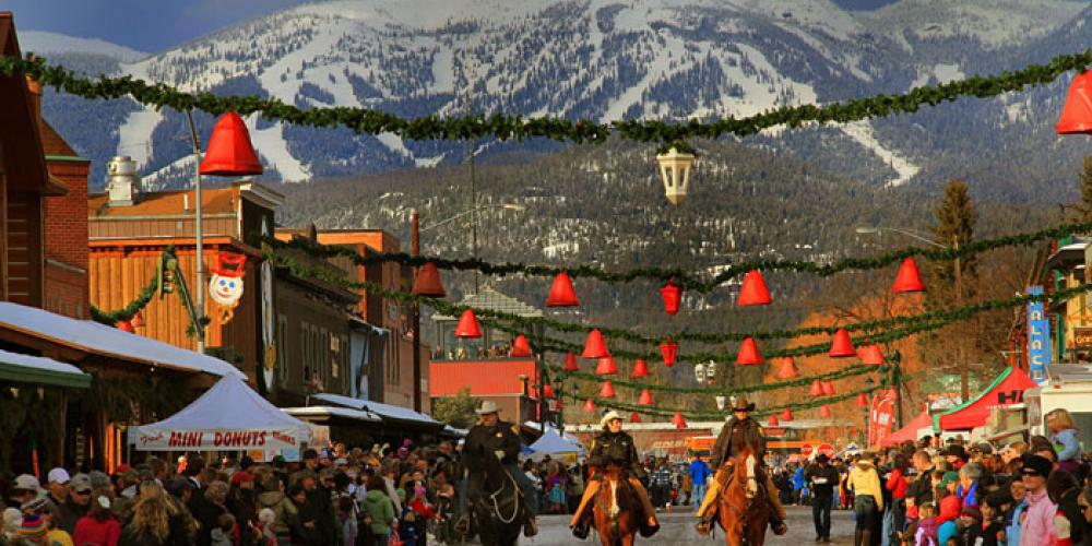 Whitefish Winter Carnival, image by Brian Scott, courtesy of Whitefish Convention & Visitors Bureau