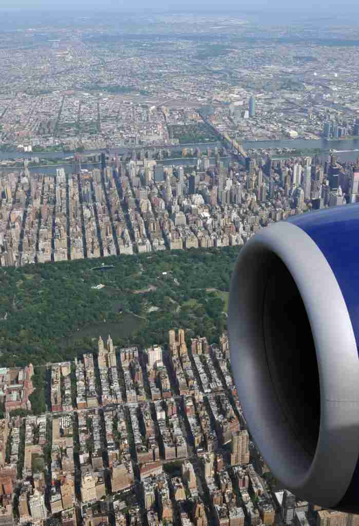 Seeing Central Park from the air is a genuine avgeek reward. Picture by Alberto Riva/TPG
