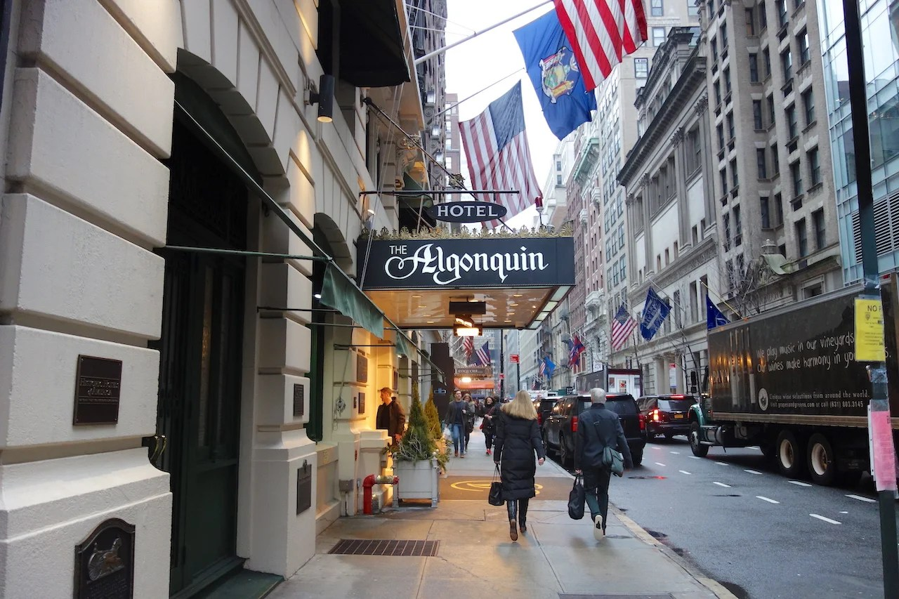 A Review Of The Algonquin Hotel In New York City