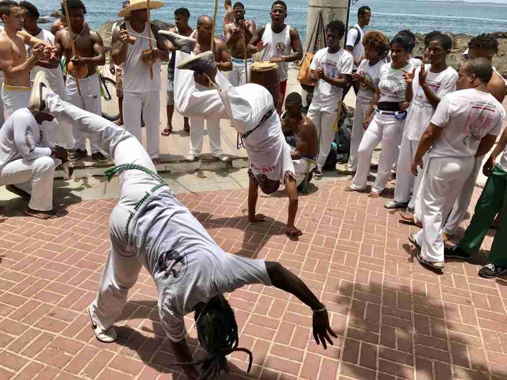 Capoeira in Brazil. (Photo via Shutterstock)