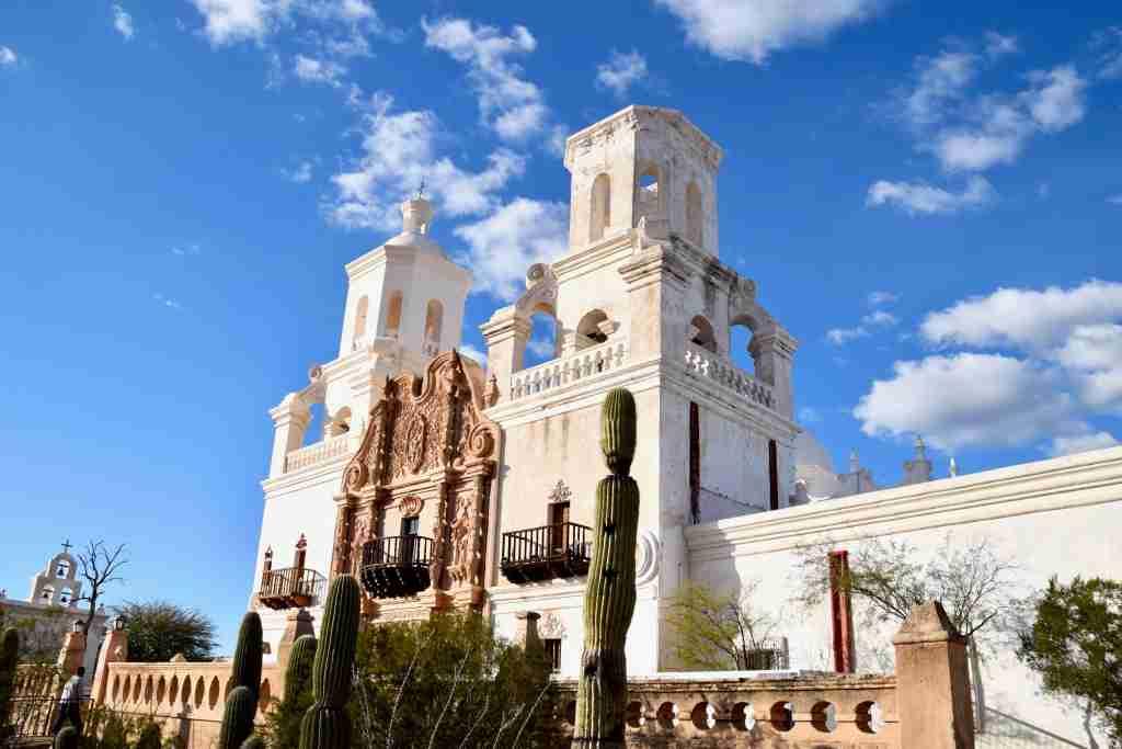 Mission San Xavier del Bac in Tucson Arizona