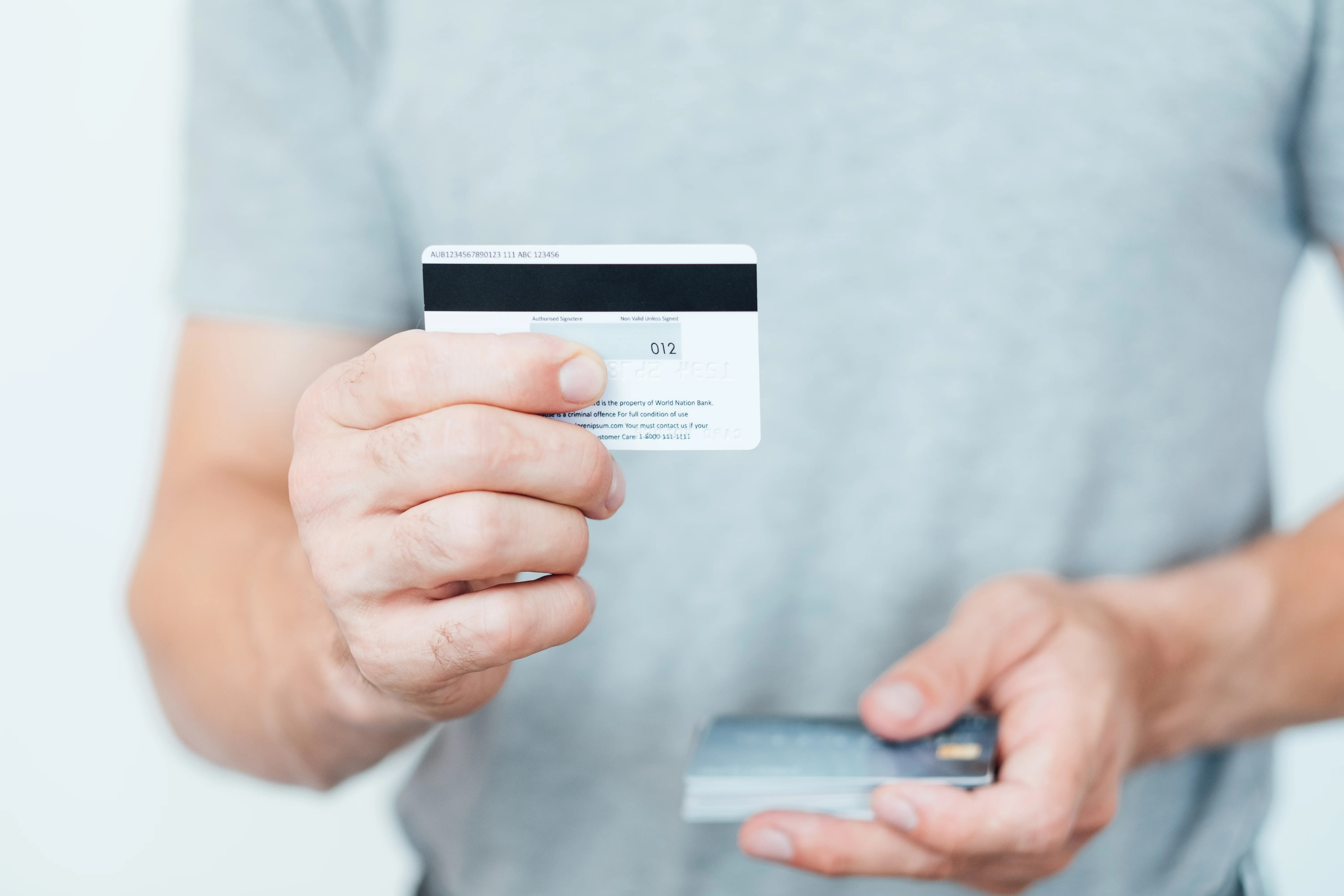 The Next Step in Credit Card Protection: A Battery-Powered Security Code