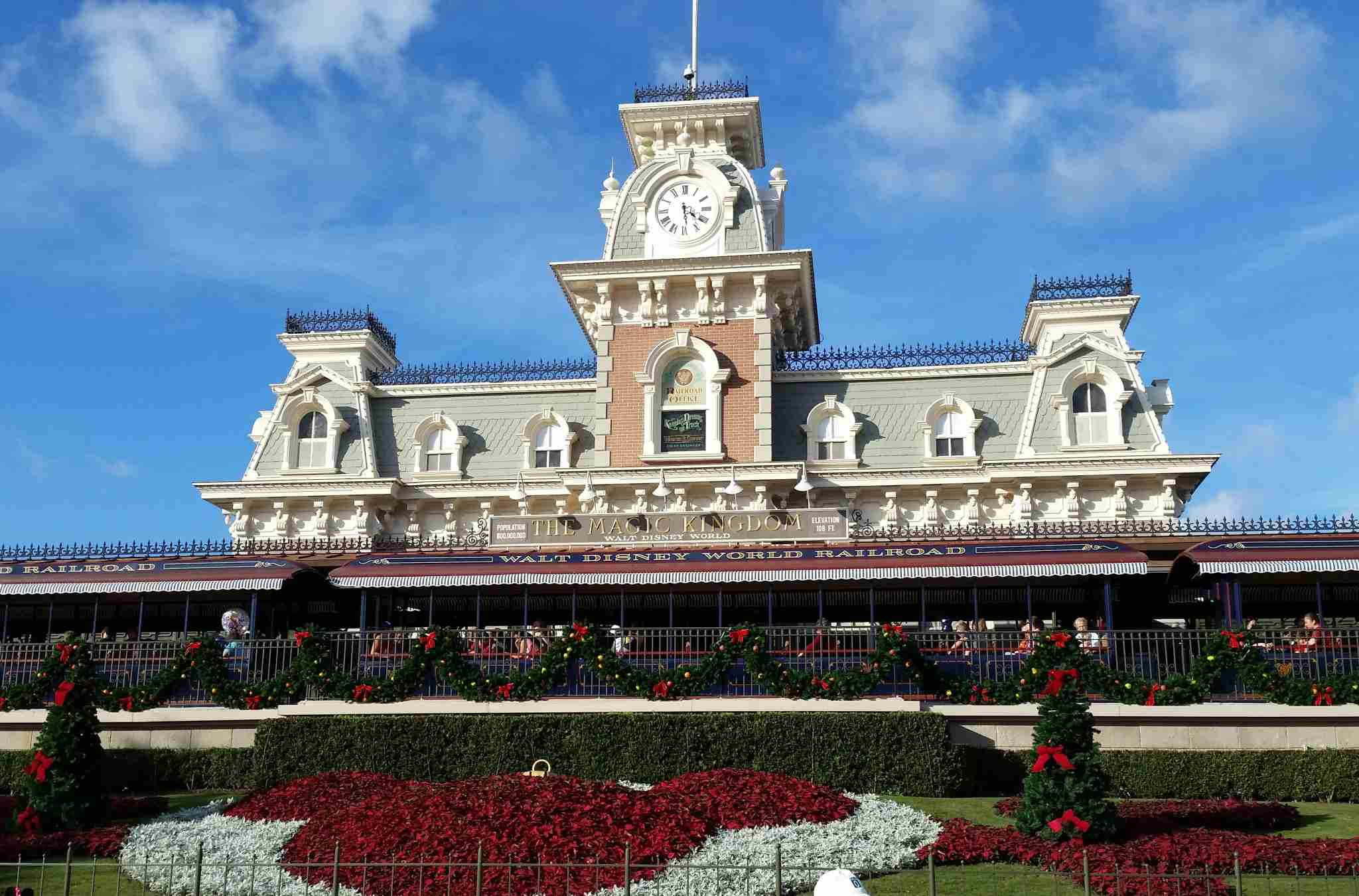 Visiting Magic Kingdom in December with my Annual Pass. Image by Ross Binkley / The Points Guy.