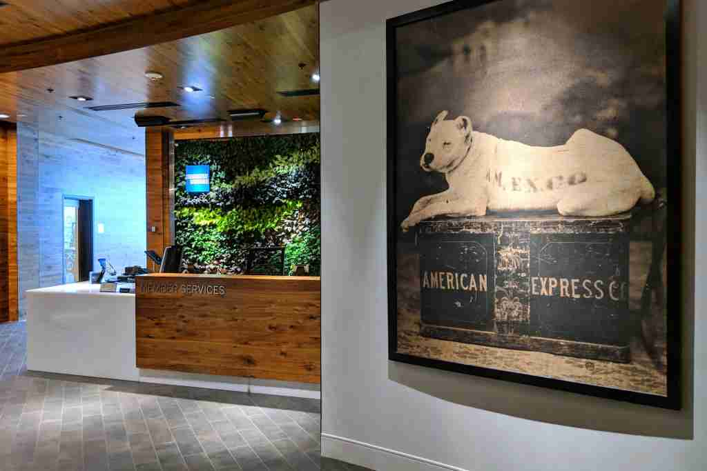 Amex offers access to hundreds of locations, beyond its own Centurion Lounge network. Photo by Zach Honig.