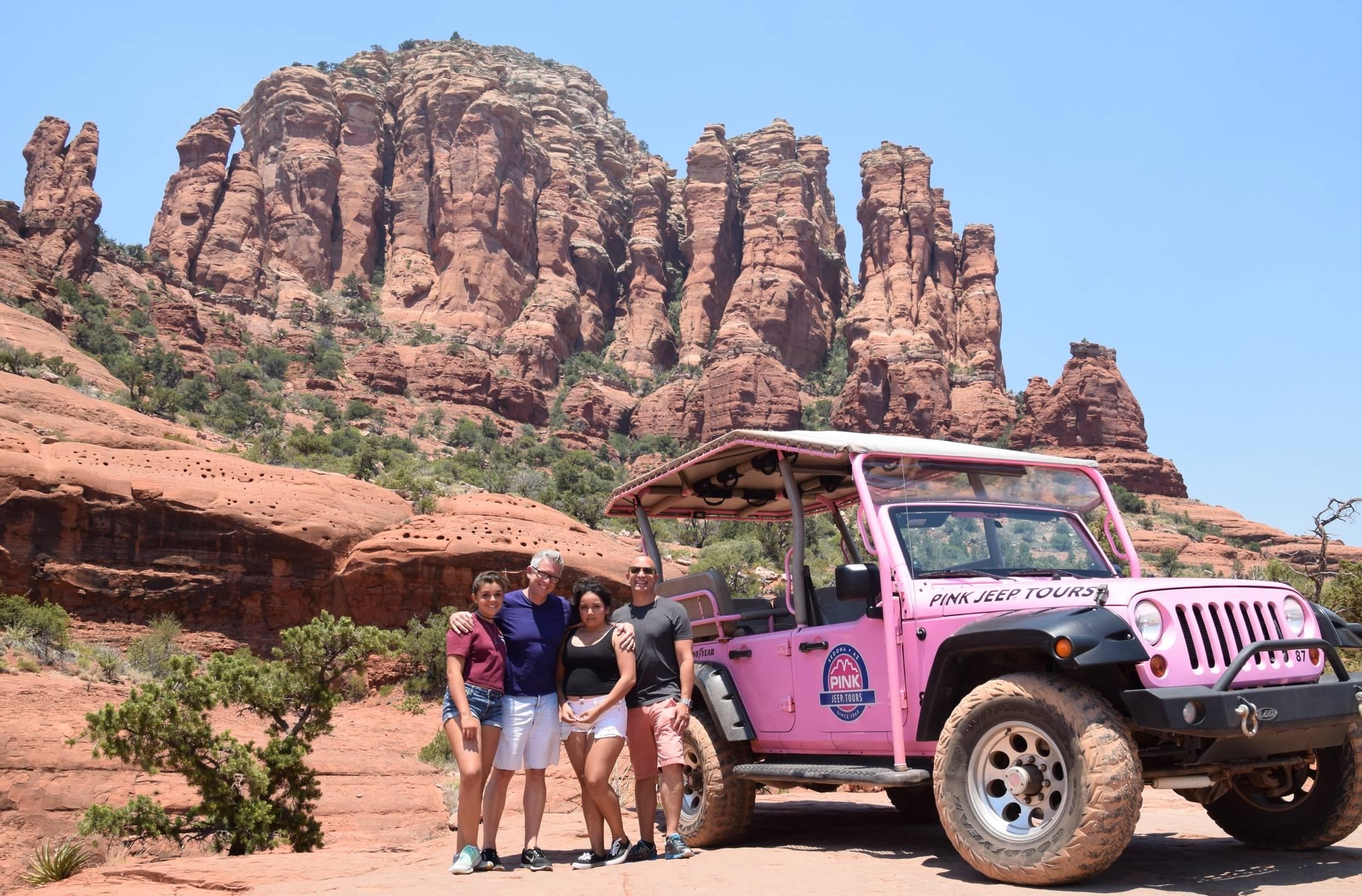 Pink Jeep Tours Sedona Arizona