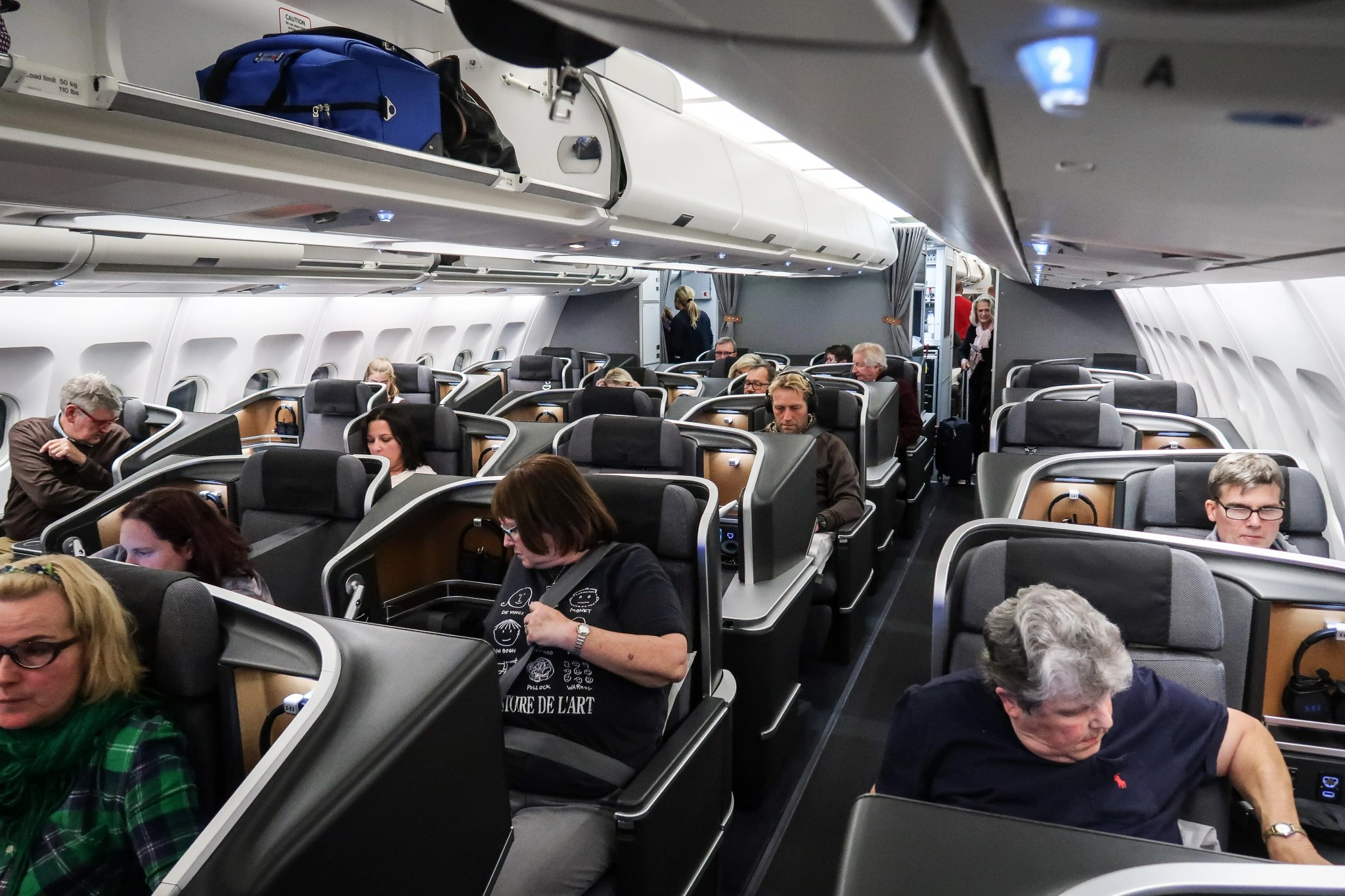 Review Sas Business Class On The A330 From Newark To