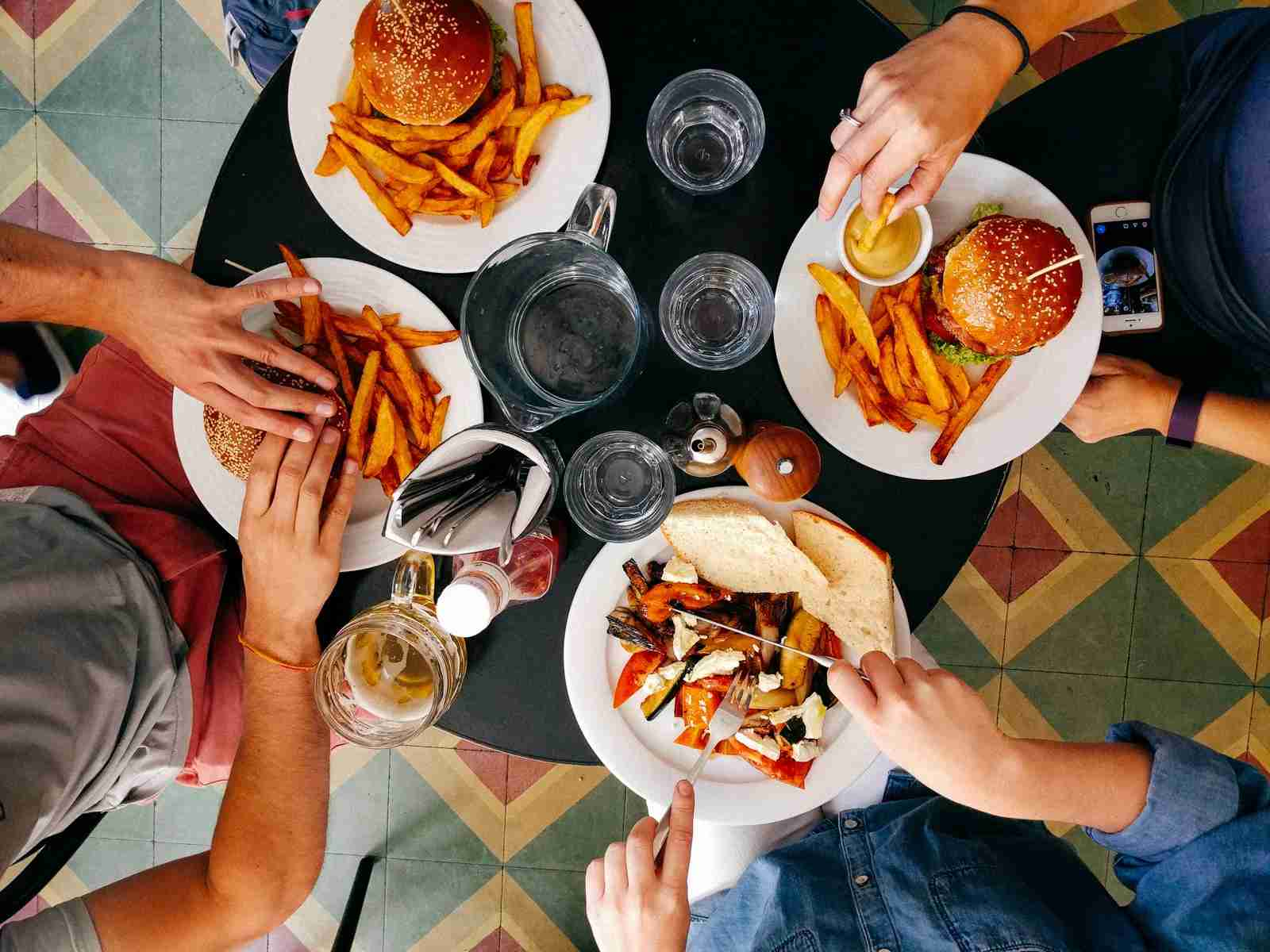 A dinner with friends can help you reach your minimum spend. Let