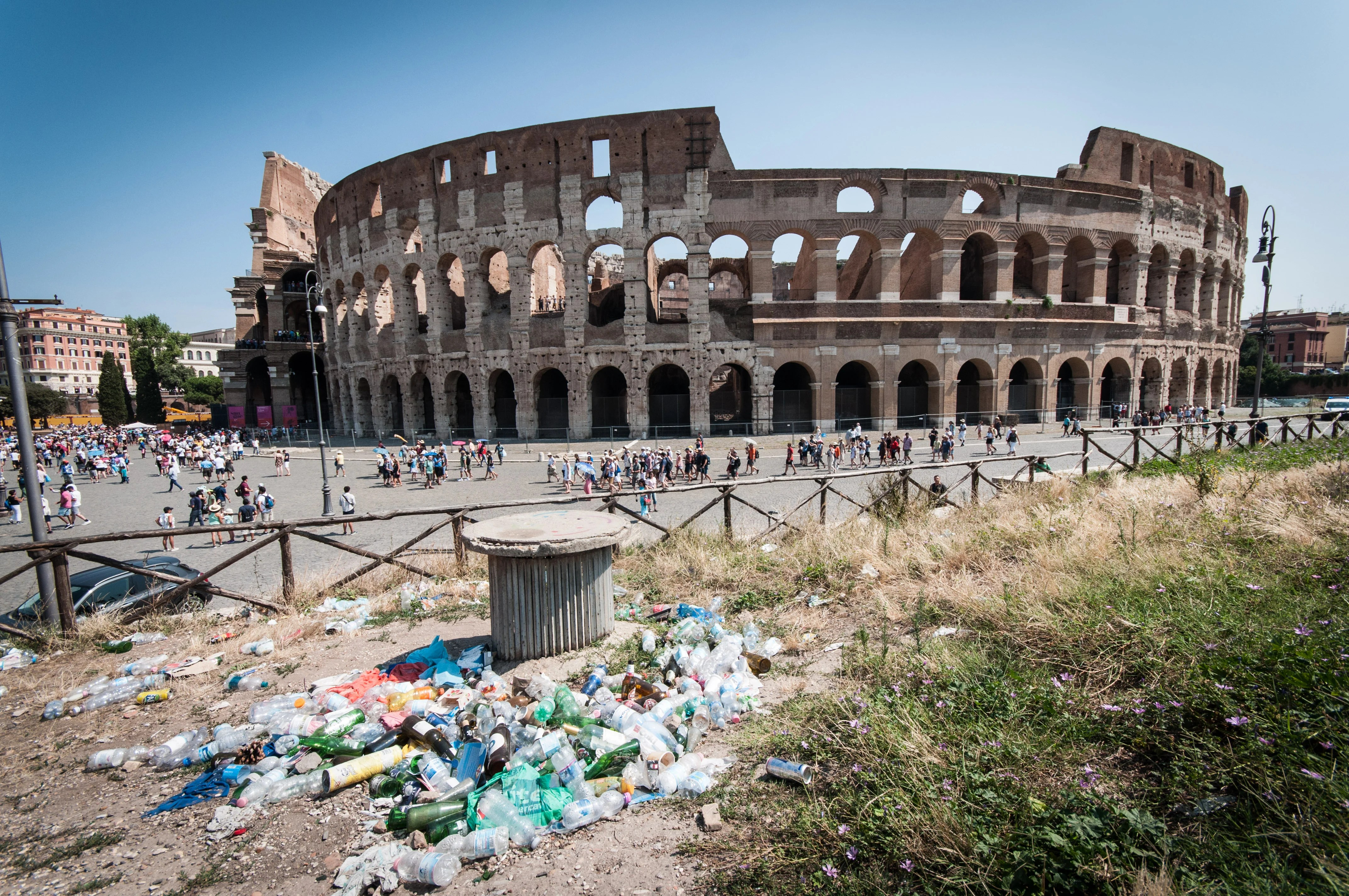 Why Is Rome Drowning in Trash?