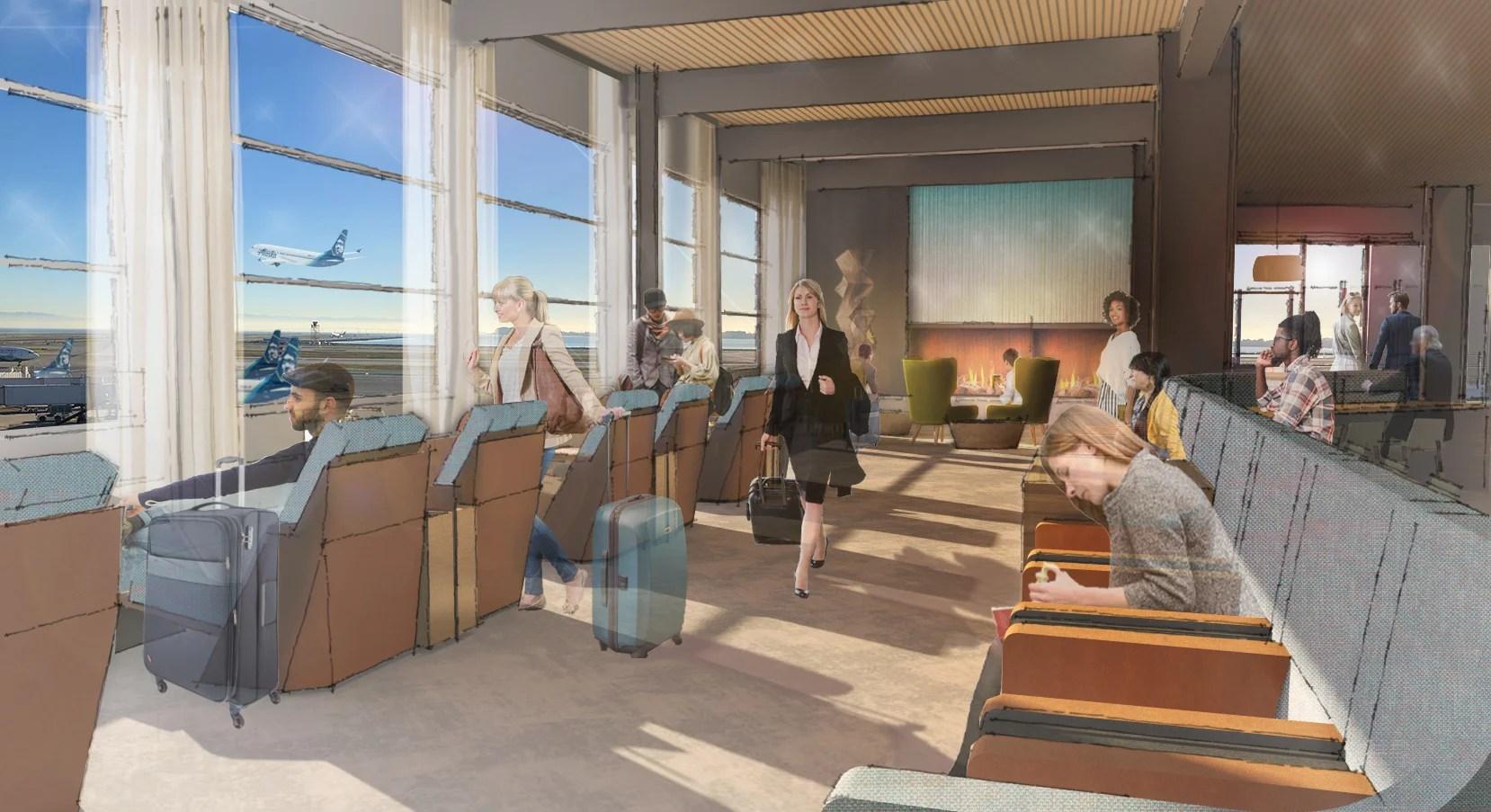 Alaska Airlines to Open 'Top Floor' San Francisco Lounge