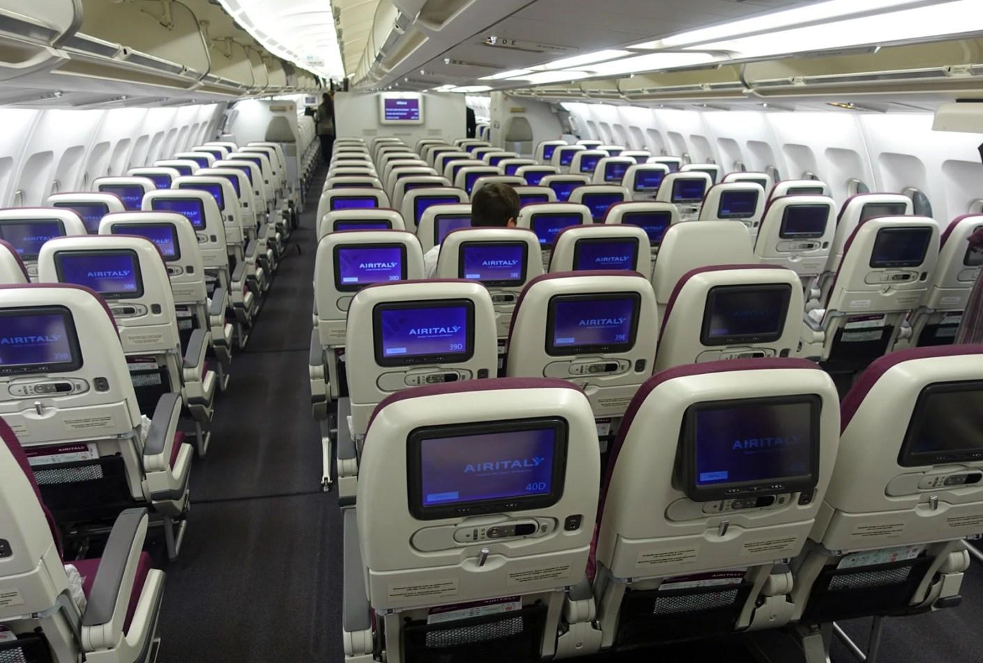 Airbus A330 Alitalia Posti