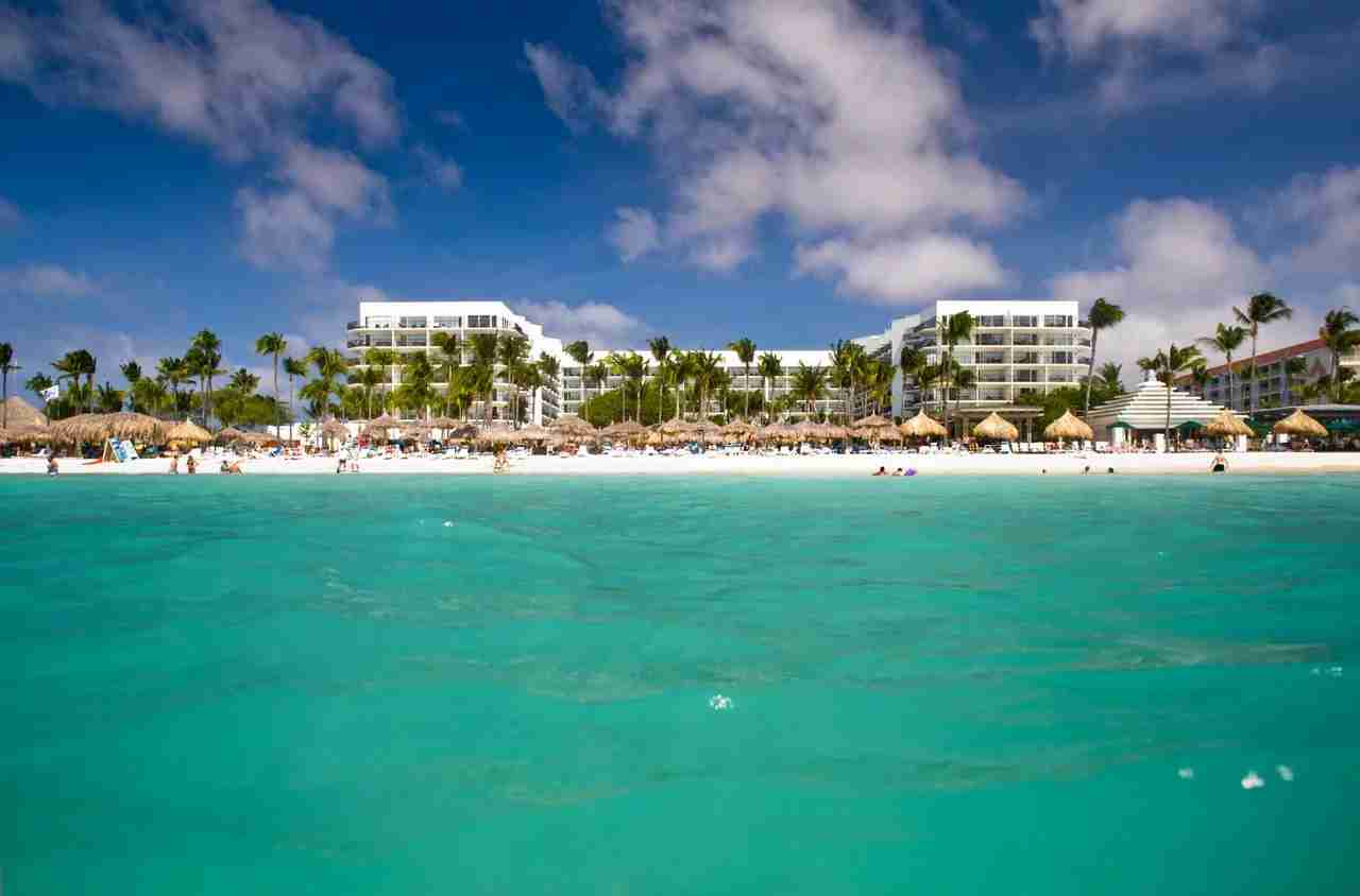 The Aruba Marriott Resort and Stellaris Casino. (Photo courtesy of Marriott)