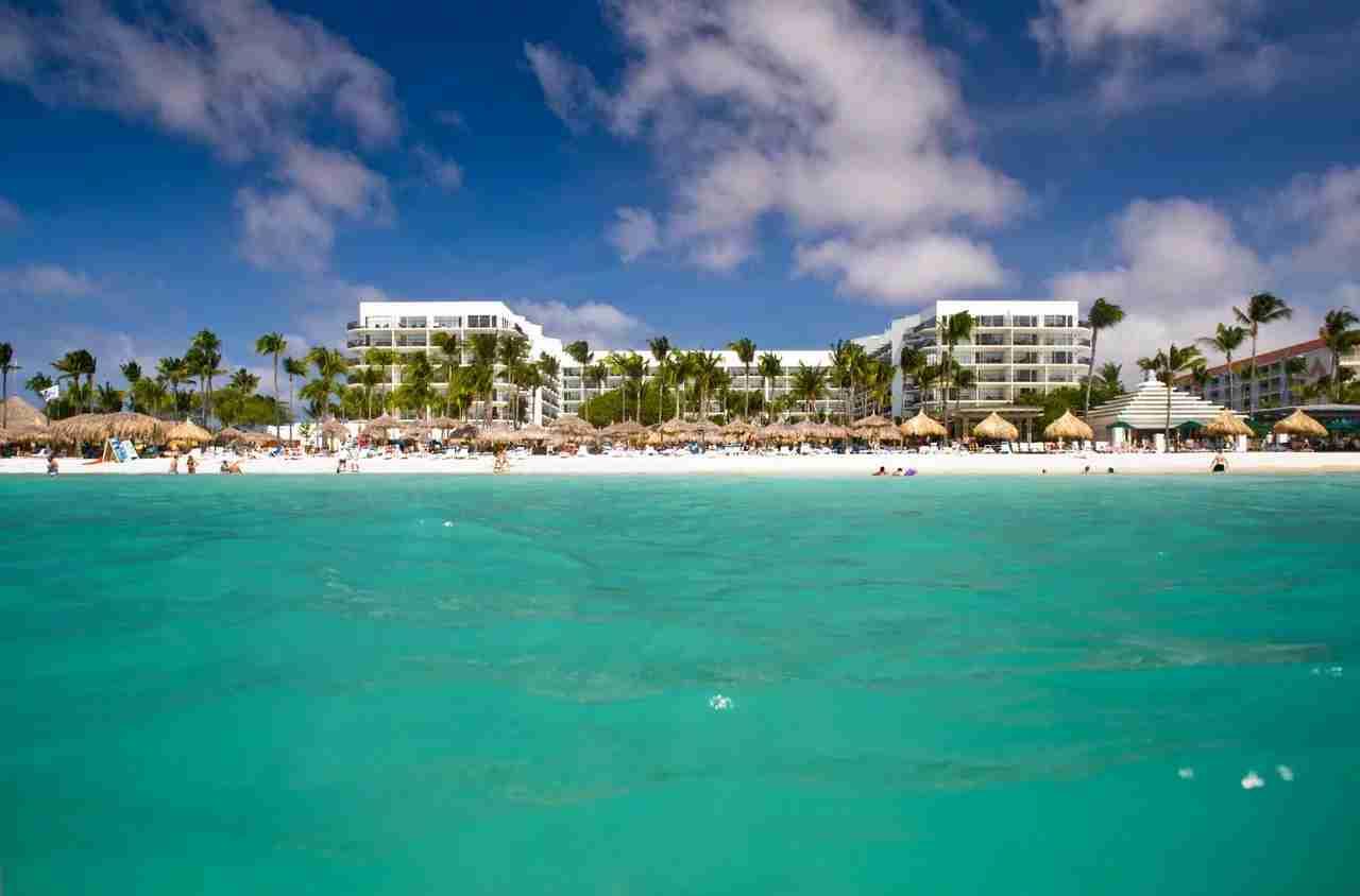 The Aruba Marriott Resort and Stellaris Casino. (Photo courtesy of Marriott)
