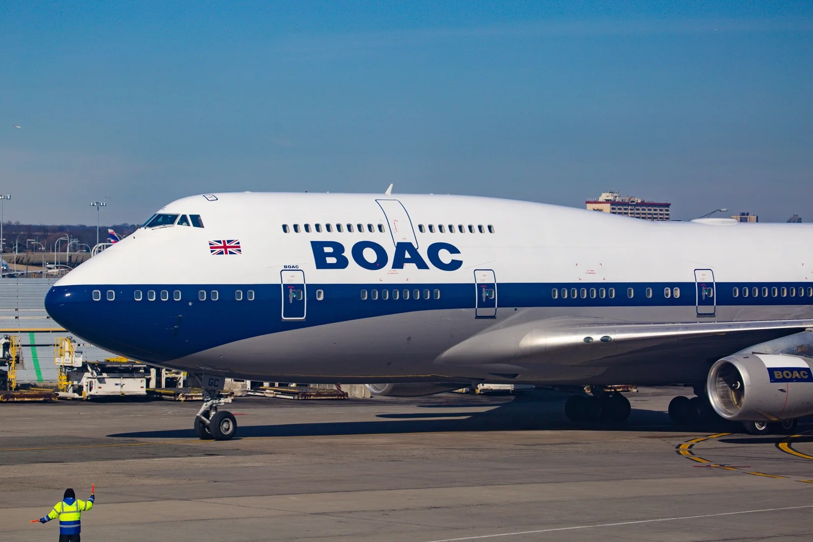 BOAC Lands in New York Again After 45 Years (Sort Of)