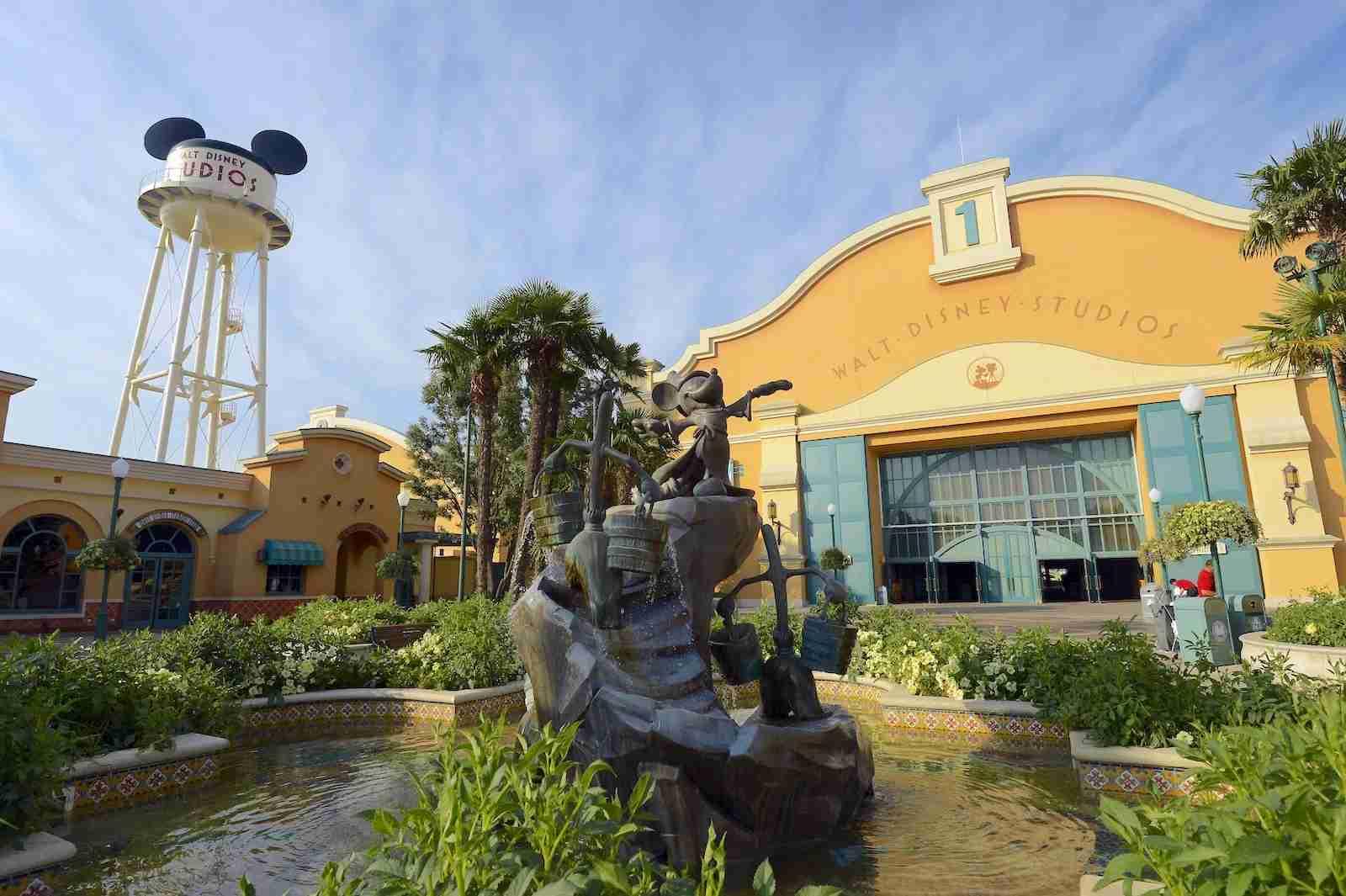 (Entrance of the Walt Disney Studios park at Disneyland Paris in Marne-la-Vallee. Photo by AFP PHOTO / Bertrand Guay)