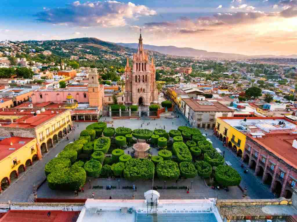 (San Miguel de Allende in Mexico. Photo by ferrantraite/Getty Images)
