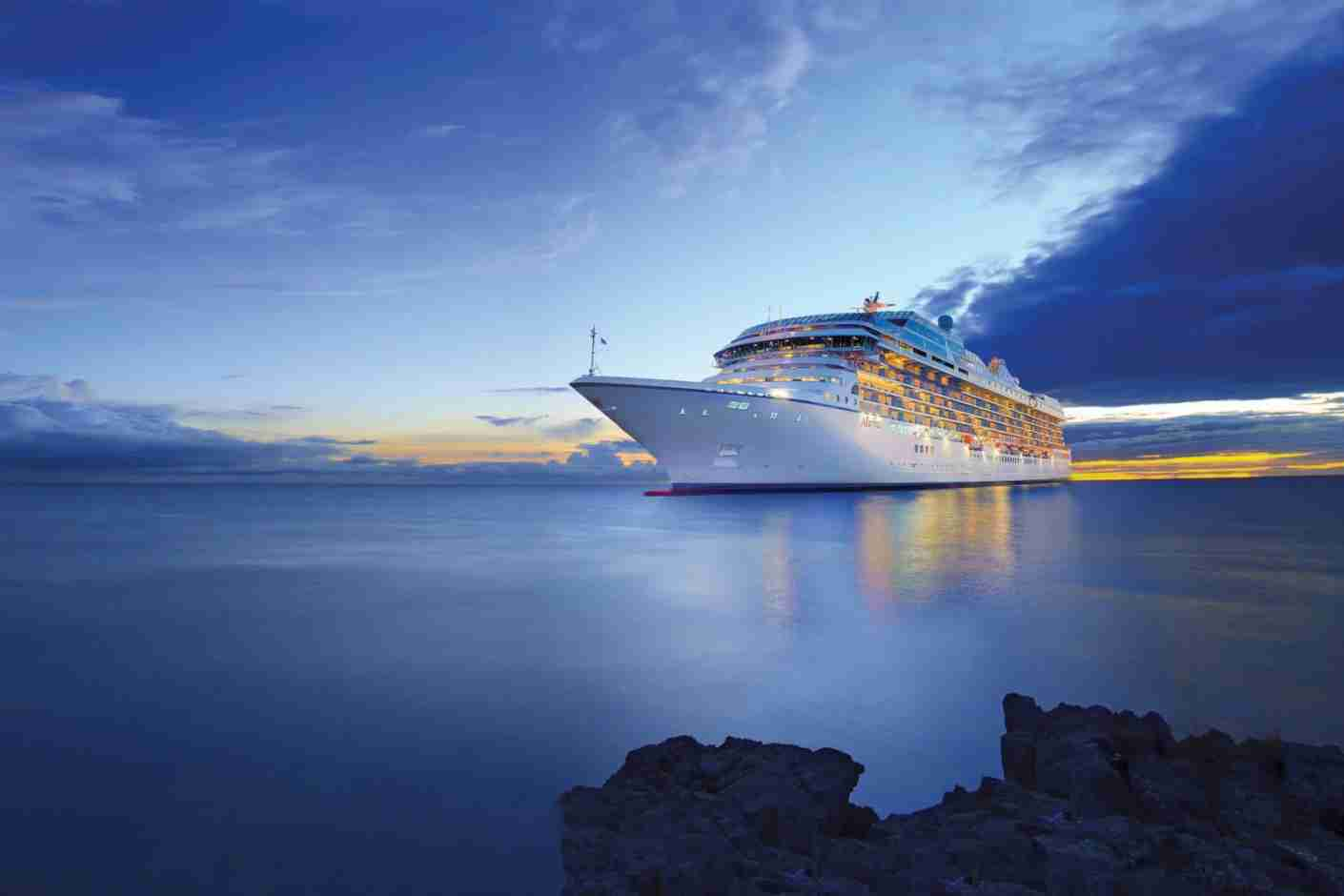 An Oceania Cruise liner. (Photo courtesy Oceania Cruises Blog)