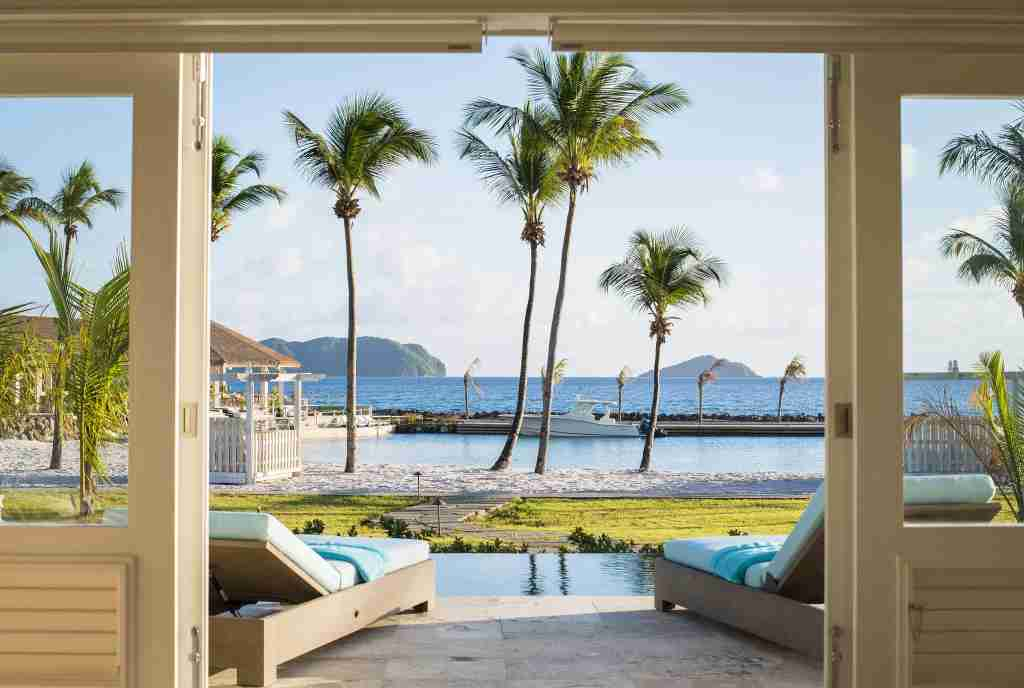 Photo of The Liming Bequia courtesy of Small Luxury Hotels of the World.