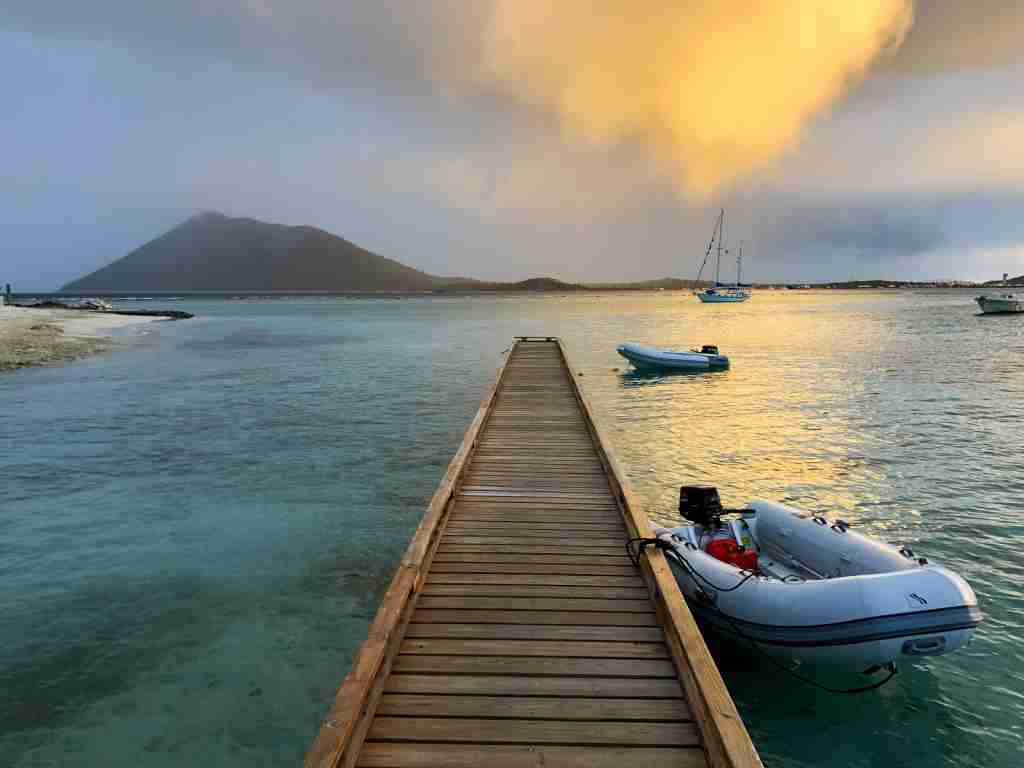 Sunsets in BVI are epic