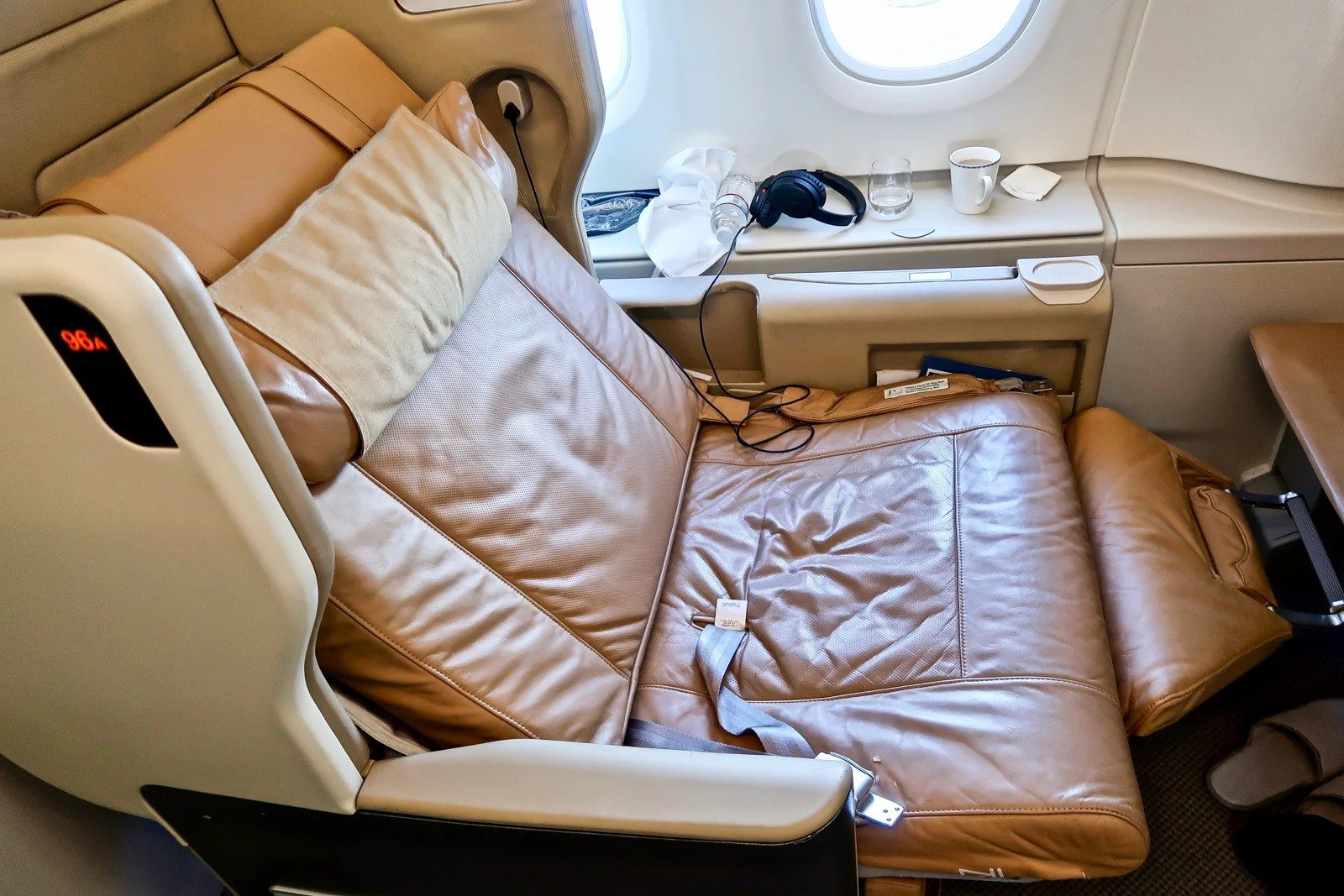 Review: Singapore Airlines A380 in Biz From JFK to Frankfurt