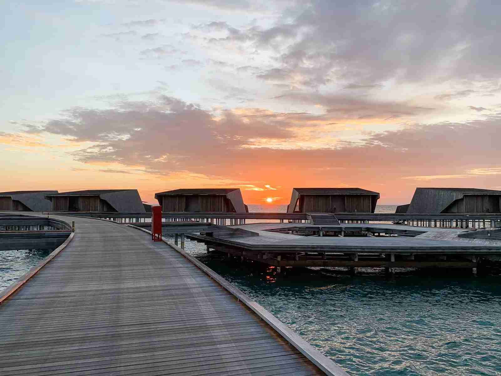 You can use this bonus to score a stay at the St. Regis Maldives, where views like this are a regular occurence. (Photo by Ethan Steinberg/The Points Guy)