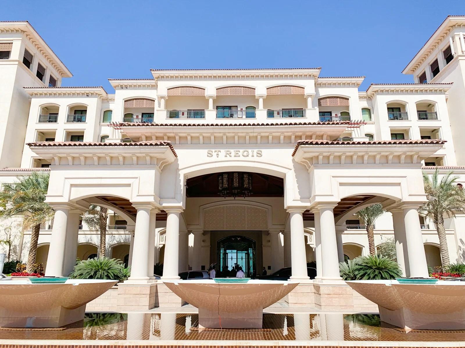 St. Regis Abu Dhabi Saadiyat Island. Photo by Ethan Steinberg / The Points Guy
