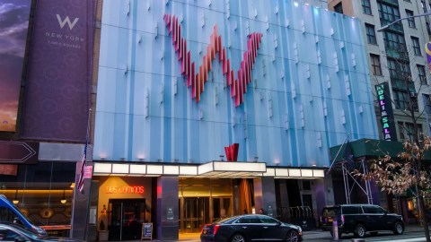 W Here It S At A Review Of The W New York Times Square The
