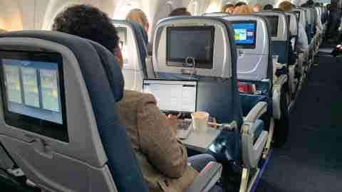 delta a220 business travel laptop tray table