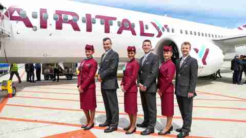 Air Italy New Uniforms Featured