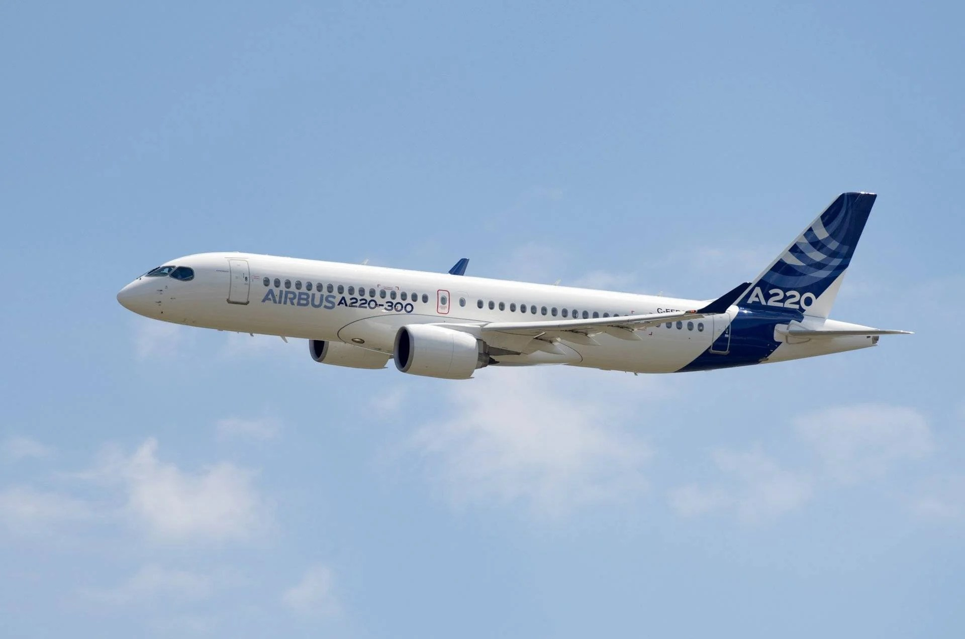 Airbus A220-100 (Image by Airbus)