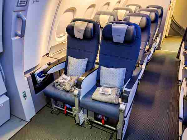 British Airways A380 Economy Class. (Photo by Katie Genter/The Points Guy)