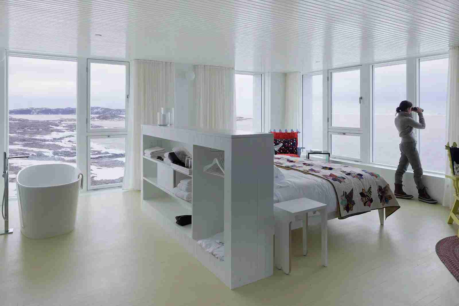 The Fogo Island Inn. (Photo courtesy of National Geographic Lodges)