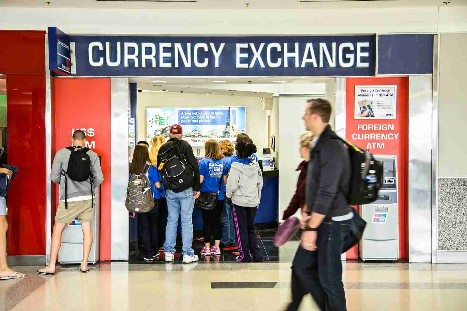 Travelex operates currency exchange locations in many US airports, but customers can find lower-priced services elsewhere.