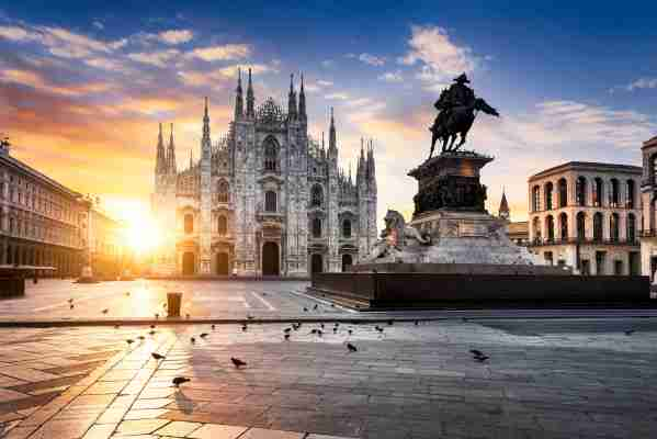 Use your United miles to see Milan