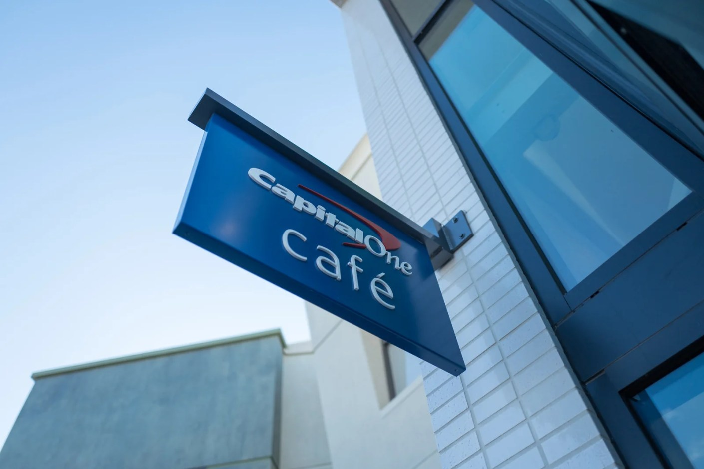 Capital One branches are called Capital One Cafe