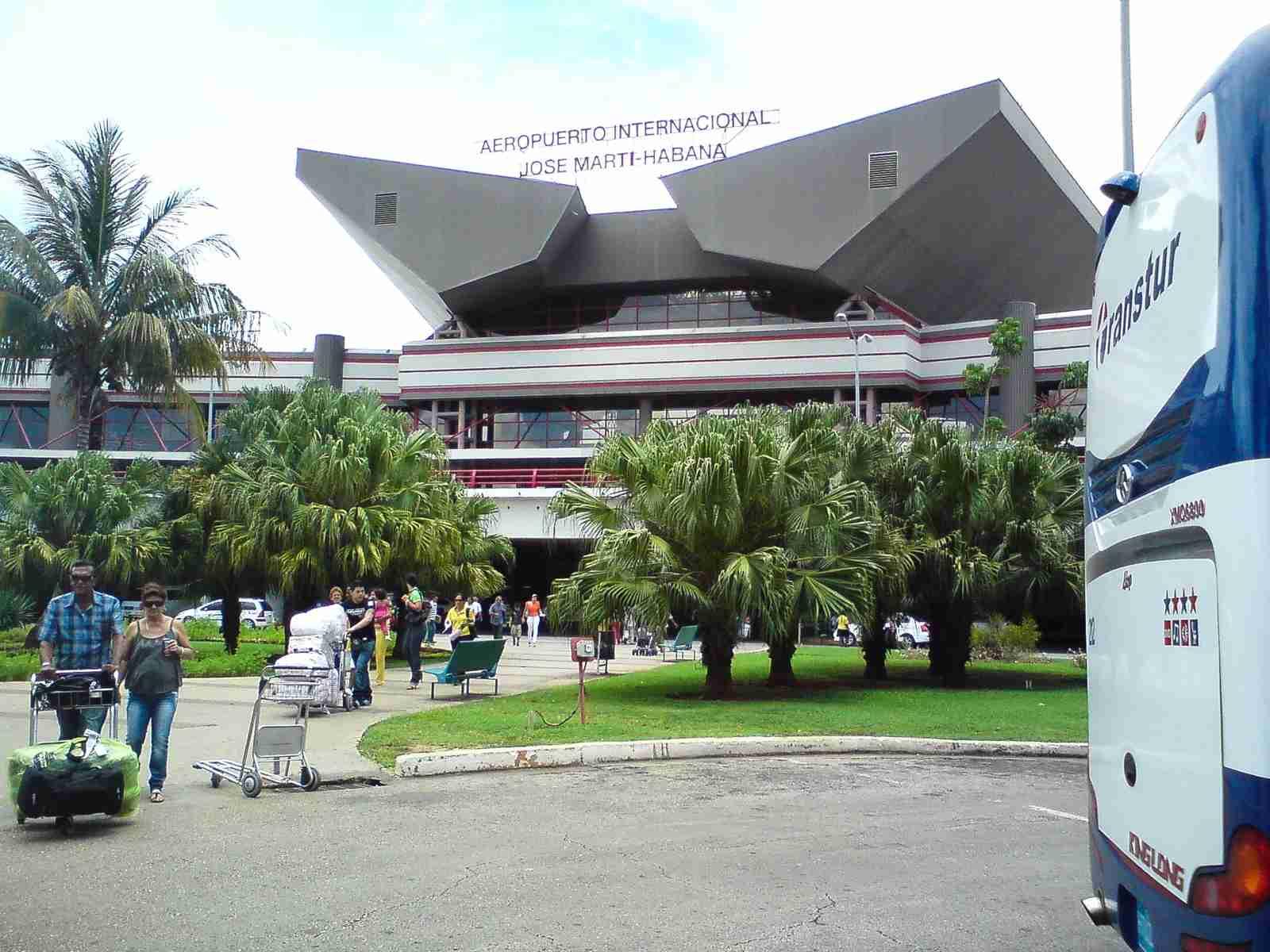 Aeropuerto José Martí. (Photo via Wikipedia)