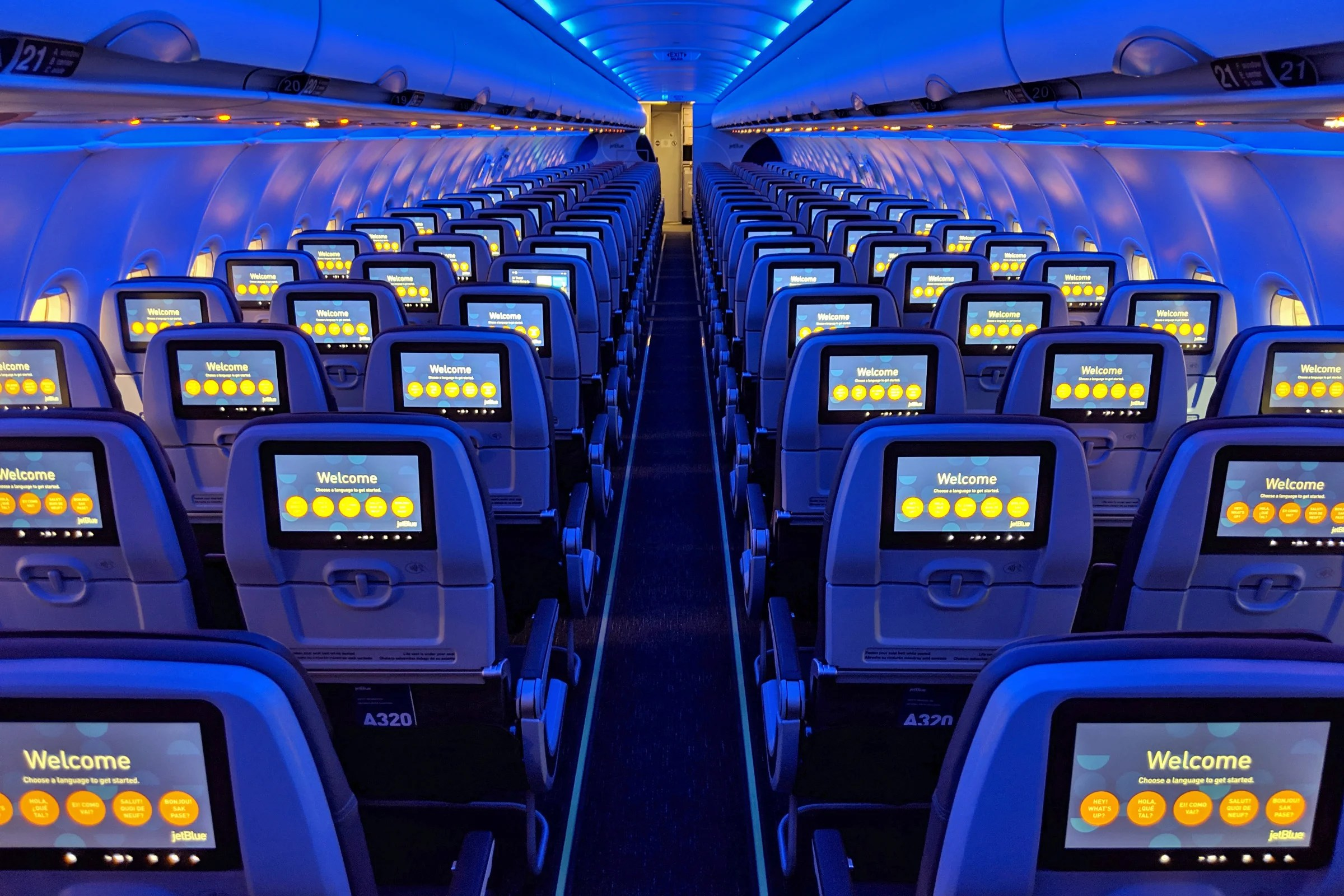 Inside JetBlue's First 'Phase 2' Retrofitted Airbus A320
