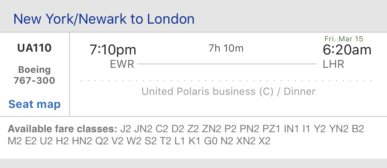 16 Rows of Biz: Reviewing Polaris on United's 'High-J' 767