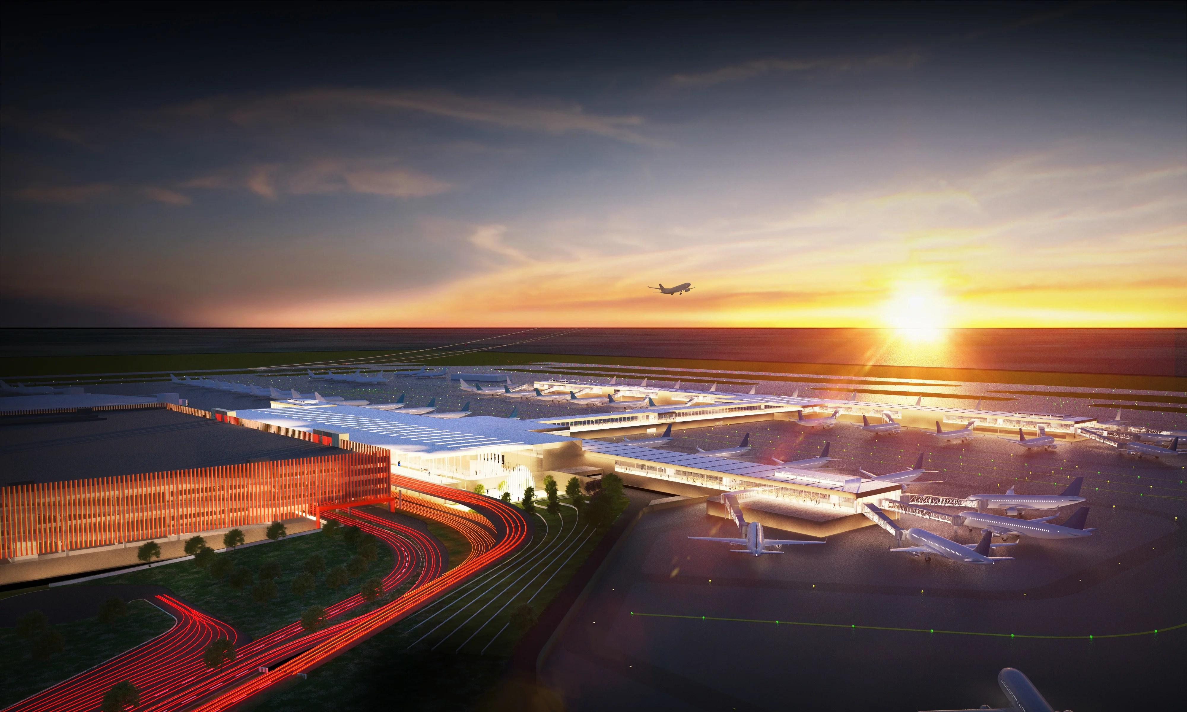 Kansas City Airport Building A New 1 5 Billion Terminal